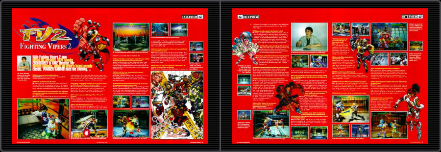 Out-of-Print Archive • Arcade interview • Sega AM2 - Hiroshi
