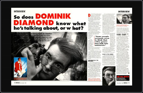 Donimik Diamond GamesMaster interview