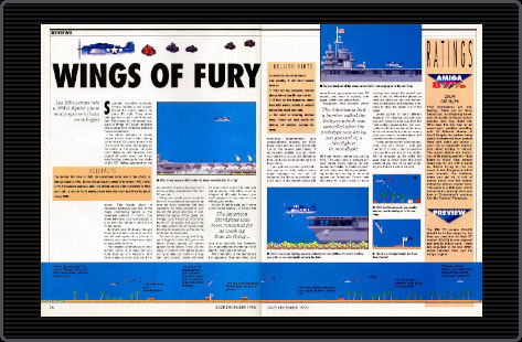 Out Of Print Archive Amiga Reviews Wings Of Fury