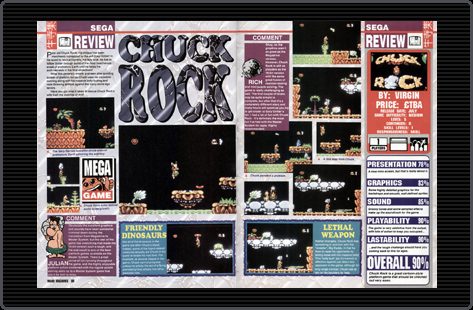 Chuck Rock review