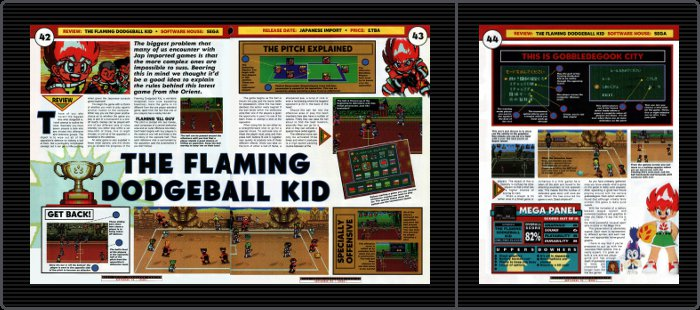 The Flaming Dodgeball Kid