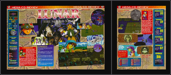 Lunar the Silver Star (Mega CD)