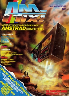 Amtix! issue 1 cover