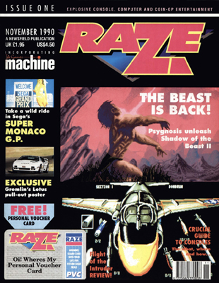 Raze issue 1 cover
