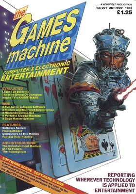 The Games Machines issue 1 cover