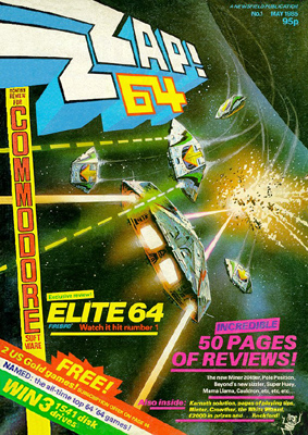Zzap!64 issue 1 cover