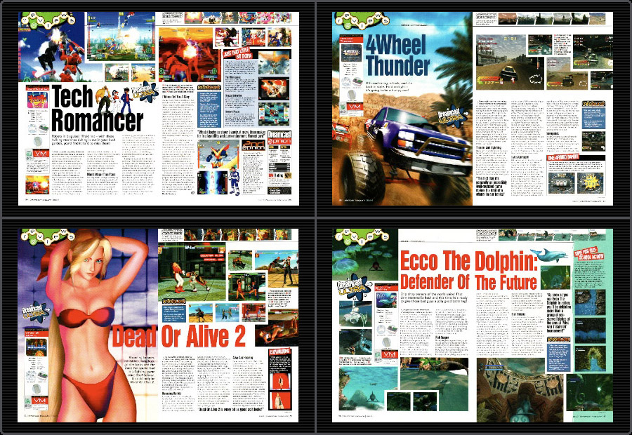Out-of-Print Archive • Dreamcast Magazine 8 - april 2000 (UK)