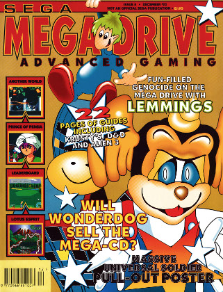 Mega Drive Advanced Gaming 4 - december 1992 (UK)